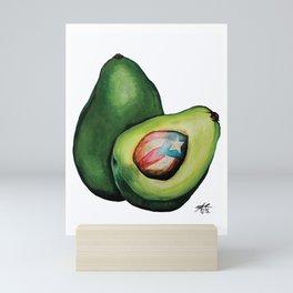 Aguacate puertorriqueño 3 Mini Art Print