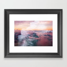 Wave of Passion Framed Art Print