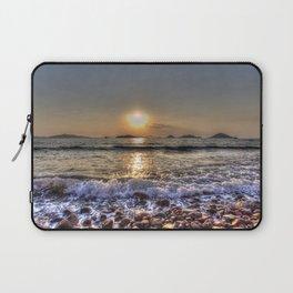 Bodrum Beach Sunset Laptop Sleeve