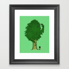 What the Bark is THAT!? Framed Art Print