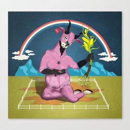 Dietary Deity Canvas Print