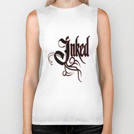 Inked Awesome Tattoo Artist & Lover Biker Tank