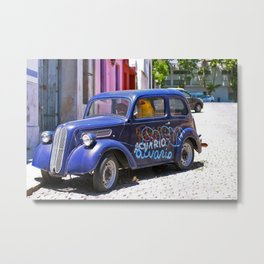 Fish got a Ticket to Ride Metal Print