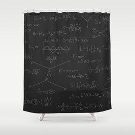 math formula Shower Curtain