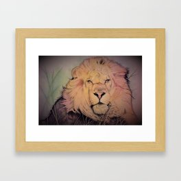 Lord of the Fen Framed Art Print