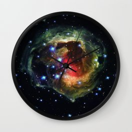Echo Light of a Stellar Outburst Wall Clock