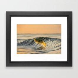 South Island Oil Framed Art Print