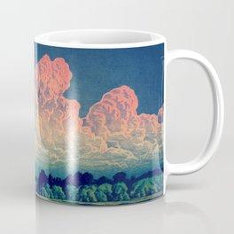 Admiring the Clouds in Kono Coffee Mug