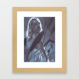 sweet ophelia Framed Art Print