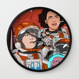 Broad City Wall Clock
