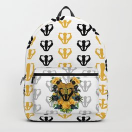 Yellow & Black Backpack