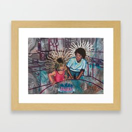 The Divine Birthday Framed Art Print
