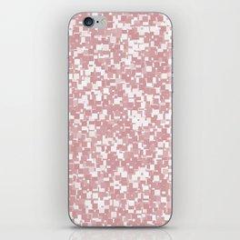 Bridal Rose Pixels iPhone Skin