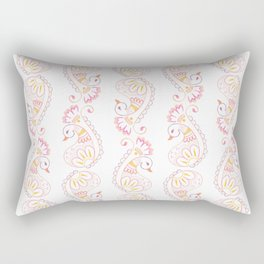 Paisley duck Rectangular Pillow