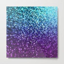 Mosaic Sparkley Texture G198 Metal Print