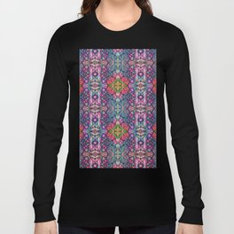 Fractal Art Stained Glass G311 Long Sleeve T-shirt