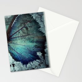 Abstract Butterfly Stationery Cards