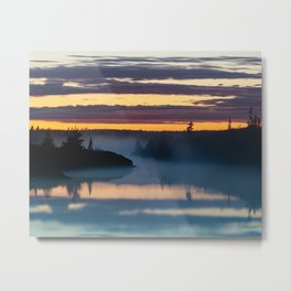 Mists of June Metal Print