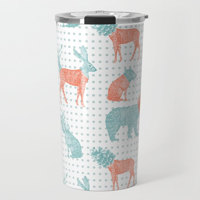 Stranger Xmas Travel Mug
