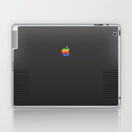 RETRO Apple Space Grey Laptop & iPad Skin