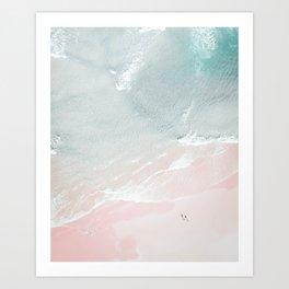 Ocean Walk VII Art Print