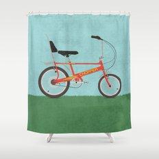 Chopper Bike Shower Curtain