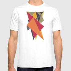 Arrows White MEDIUM Mens Fitted Tee