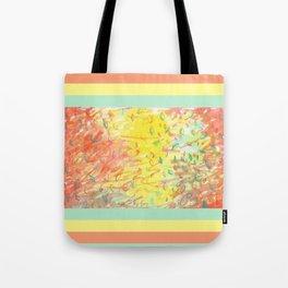 Falling Leaves in Sunlight Watercolour Tote Bag