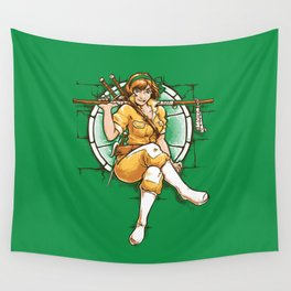 The 5th Turtle Wall Tapestry