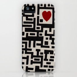 Love Labyrinth iPhone Case