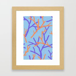 Corals Framed Art Print