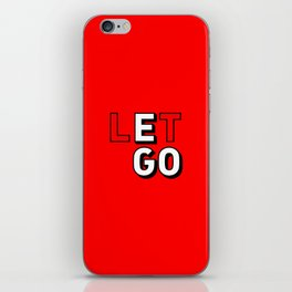 Let Go The Ego iPhone Skin