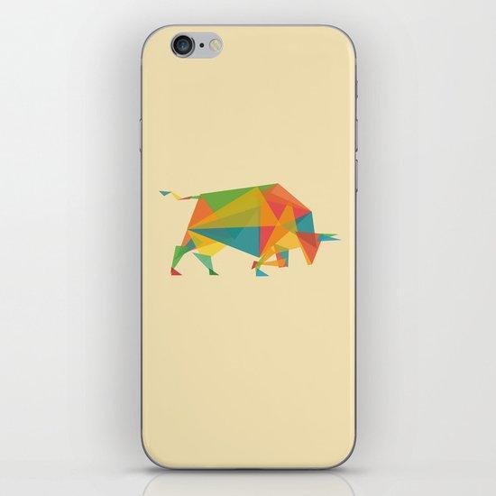 Fractal Geometric Bull iPhone & iPod Skin