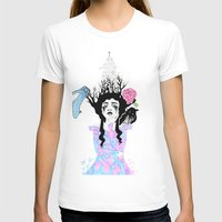 fairytale T-shirts featuring Fairytale Girl  by ArtVlogM