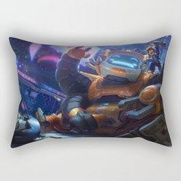 Nunu Bot League Of Legends Rectangular Pillow