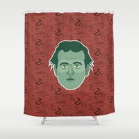 ghostbusters Shower Curtains featuring Peter Venkman - Ghostbusters by Kuki