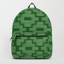 Dark Emerald Birdseye Backpack