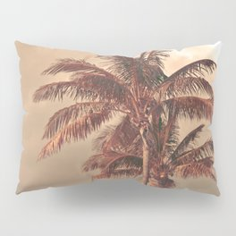 Retro Palm Tree Pillow Sham