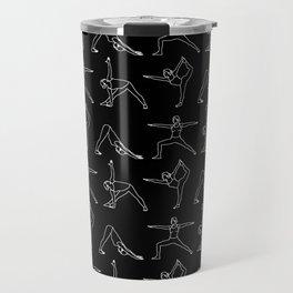 Yoga // Black Travel Mug