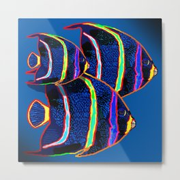 Fishes Metal Print