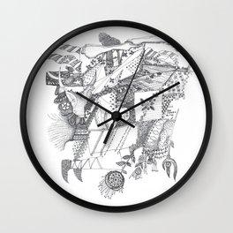 Folk tales Wall Clock