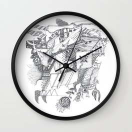 Folk tales Wall Clock