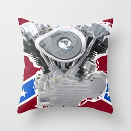 Rebel Rider Throw Pillow