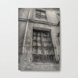 The old alley Metal Print