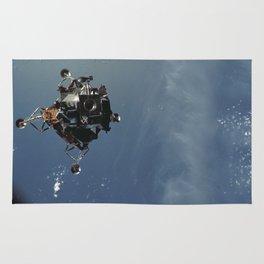 Apollo 9 - Lunar Module Over Earth Rug