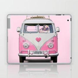 Pug Girly Adventure Laptop & iPad Skin