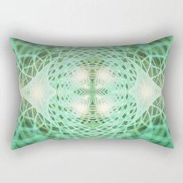 Geometry Dreams : Eternal Rectangular Pillow
