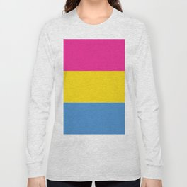 Pansexual Pride Long Sleeve T-shirt