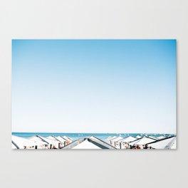Cascais Beach Bums Canvas Print