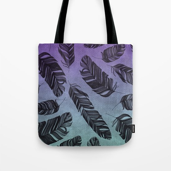 Feather Fade Tote Bag